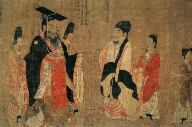 Trading system in ancient china